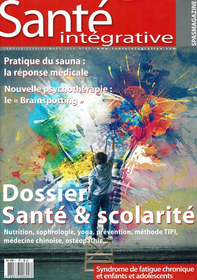 Santé Intégrative - Janvier Février Mars 2016 - n°49 couverture